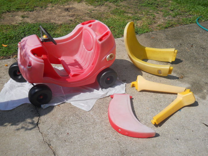 Little Tikes Car Makeover Hometalk