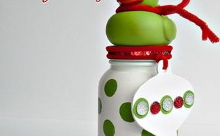 polka dot mason jar christmas gift for baby girl, christmas decorations, crafts, mason jars, seasonal holiday decor