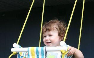 diy baby toddler swing, bedroom ideas, diy, outdoor living, woodworking projects