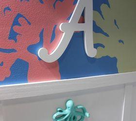 Delightful Diy Under The Sea Themed Kid S Bathroom, Bathroom Ideas, Painting