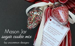simple mason jar neighbor gift, christmas decorations, crafts, mason jars, seasonal holiday decor