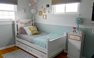 modern girl chic bedroom makeover, bedroom ideas, diy, home decor, wall decor