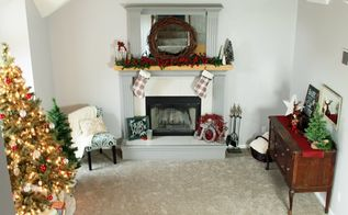 decorating for the holidays how to style a christmas vignette, christmas decorations, fireplaces mantels, how to