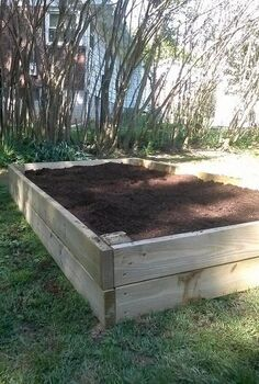 raised garden don t be scared, diy, gardening, raised garden beds, woodworking projects
