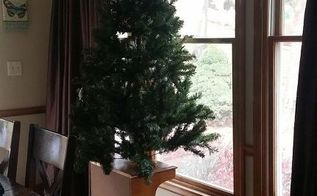 what to do with your christmas tree when you have 4 small kids, christmas decorations, seasonal holiday decor