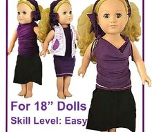 super easy no sew 18 doll clothes