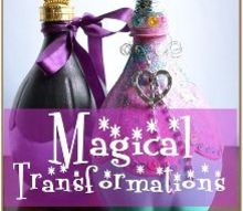 magical tranformations a pop bottle recycle, crafts, how to