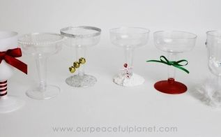 christmas party plastic holiday goblets, christmas decorations, crafts, decoupage, how to, seasonal holiday decor
