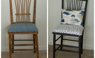take a seat fab furniture flipping contest november, painted furniture, reupholster