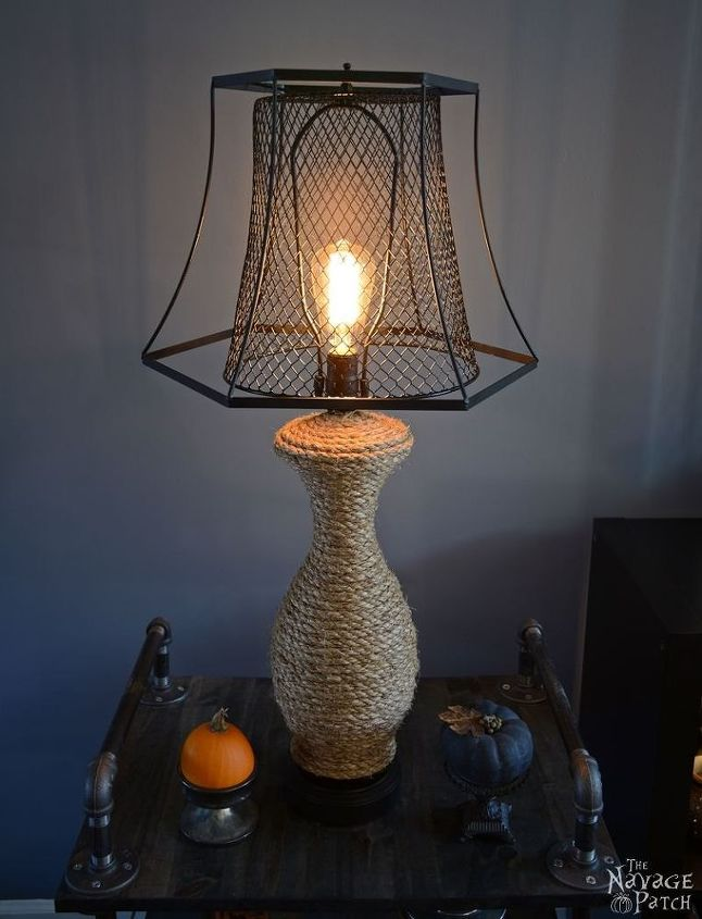 The Old Lamp Revamp Crafts Home Decor Lighting Repurposing Upcycling