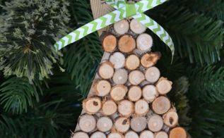 diy woodland christmas tree ornament, christmas decorations, seasonal holiday decor
