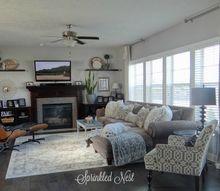 house tour 2105, home decor, living room ideas