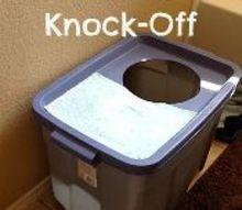 clevercat litter box knock off, pets animals, repurposing upcycling