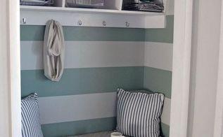 entryway update, closet, diy, doors, foyer, home decor