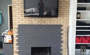 q where to put the mantle and tv, fireplace makeovers, fireplaces mantels, home decor, home decor dilemma, living room ideas