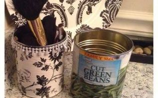 tin can makeover, crafts, repurposing upcycling