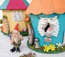 fairy garden home curtains tutorial, crafts