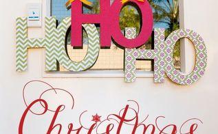 ho ho ho christmas door hanger diy decoration cut file, christmas decorations, crafts, decoupage, seasonal holiday decor