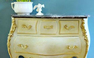 what do you do when good veneer goes bad, painted furniture