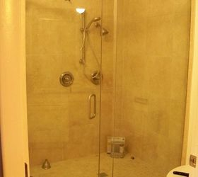 q what is the best way to keep my glass shower doors clean bathroom ideas