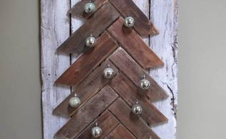 pallet wood christmas tree diy, christmas decorations, crafts, diy, how to, pallet, seasonal holiday decor, woodworking projects
