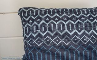 diy woven pillow in 5 minutes, crafts