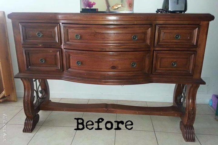 timeless white buffet, painted furniture, repurposing upcycling,  woodworking projects