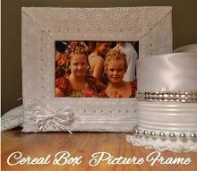 cereal box craft project, crafts, repurposing upcycling