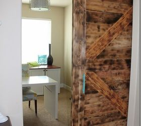 diy large barn door perfect for large openings diy diy doors home office & DIY Large Barn Door Perfect for Large Openings #DIY #BuildIt ... Pezcame.Com