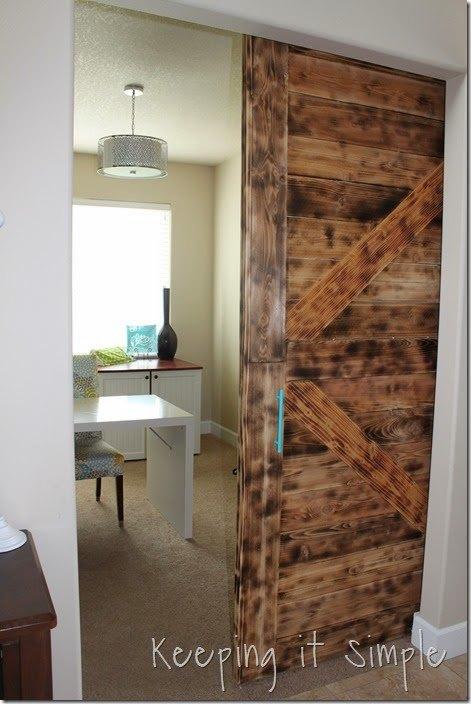 DIY Large Barn Door Perfect for Large Openings DIY BuildIt