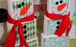 christmas decoration 2x4 snowman christmasdecorations, christmas decorations, how to, seasonal holiday decor, woodworking projects