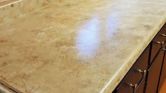Simple Granite Countertops : easy faux granite counter top, countertops, diy, kitchen design ...