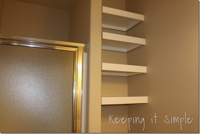 Diy Shelves For A Small Bathroom Diy Buildit Hometalk
