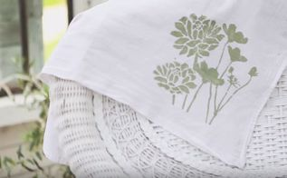fabric painting tutorial, crafts, how to, reupholster, The finished look