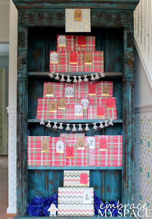 Book Advent Calendar Ideas : Book a day advent calendar hometalk