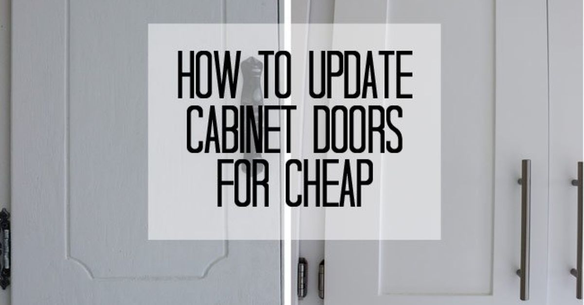Update Cabinet Doors To Shaker Style For Cheap Hometalk