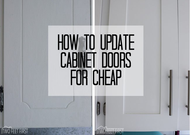 Update Cabinet Doors To Shaker Style For Cheap Closet Diy Doors Kitchen