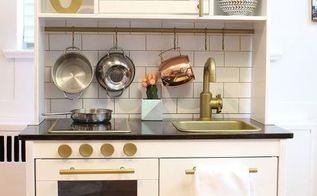 modern play kitchen ikea duktig play kitchen hack, diy, kitchen design, woodworking projects