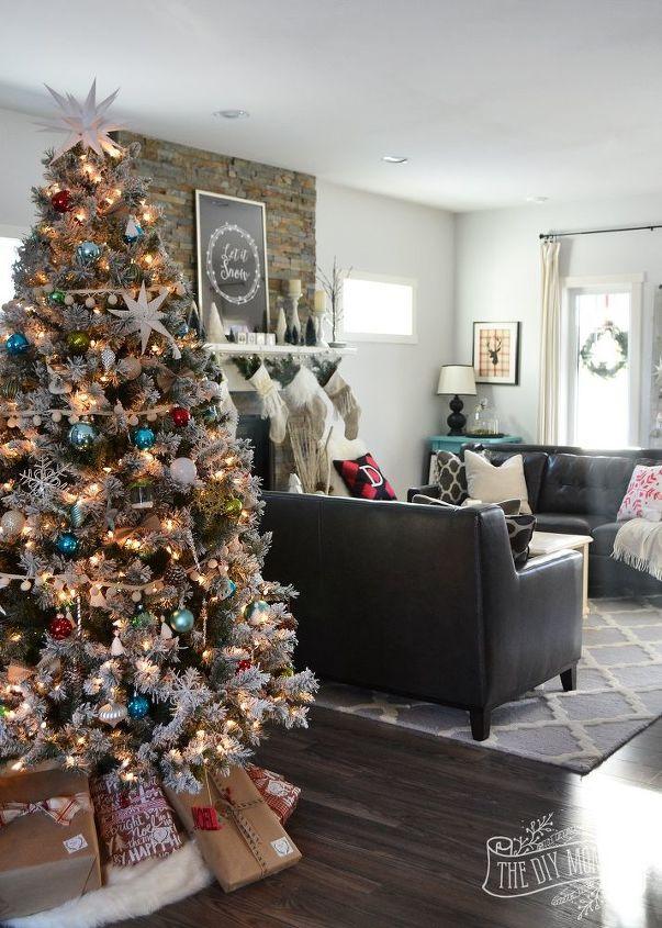 A canadian prairie christmas our 2015 christmas home tour for Home decor online canada