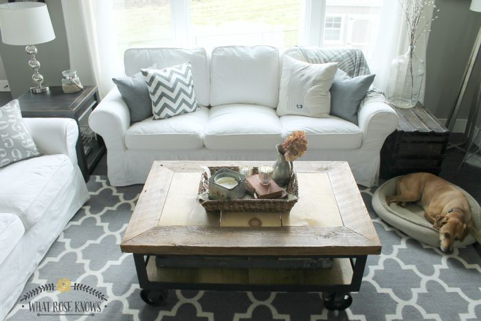 How to care for your ikea ektorp furniture hometalk for Cleaning living room furniture