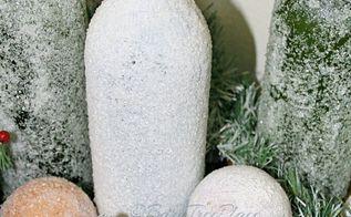 epsom salt craft projects, crafts, seasonal holiday decor