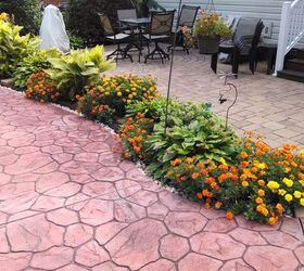 Garden Mulch Beds Mulch Washing Away Drainage Solution For Patio, Decks,  Landscape, Outdoor