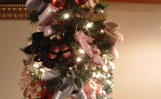 babies first tree, christmas decorations, crafts, Babies First Tree