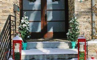 modern colorful christmas home tour, christmas decorations, seasonal holiday decor