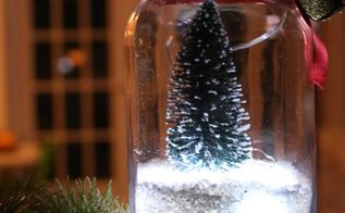 christmas in a jar with lights, christmas decorations, crafts, how to, mason jars, seasonal holiday decor