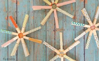 washi tape snowflakes, christmas decorations, crafts, seasonal holiday decor, wall decor