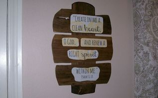 old weathered wood given a new purpose, crafts, woodworking projects