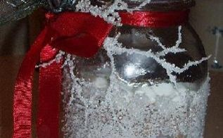 yet another ball jar gift, christmas decorations, crafts, decoupage