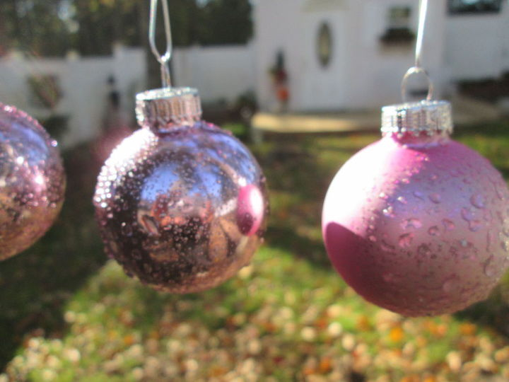 How To Make Mercury Glass Ornaments On A Dime Christmas Decorations Crafts Home