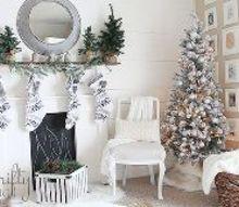 christmas home tour, christmas decorations, home decor, seasonal holiday decor
